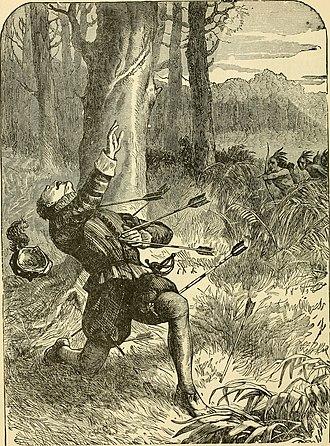 Death of George Howe at Roanoke