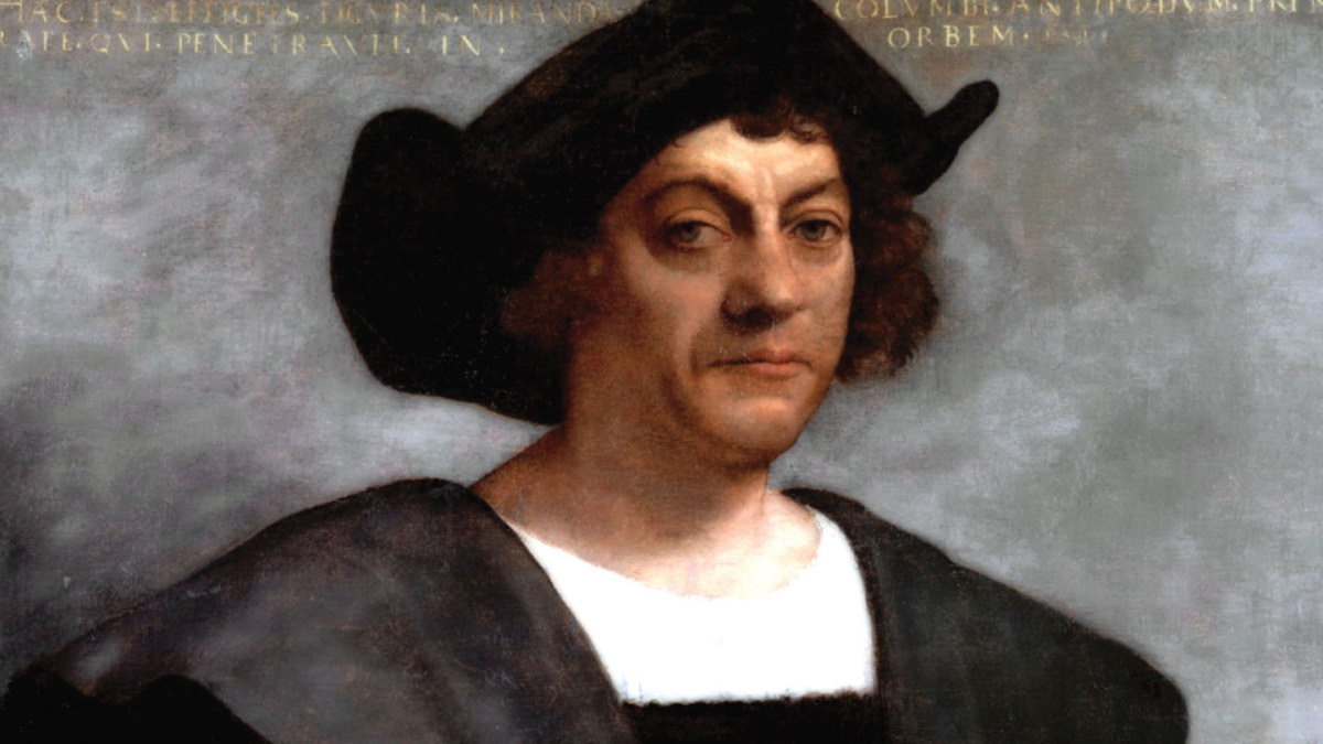 Pprtrait of Columbus