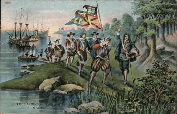 Jamestown landing